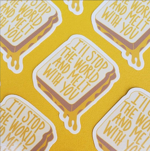 STICKER GRILLED CHEESE MELT WITH YOU
