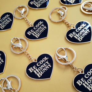 HONEY BUNNY PULP FICTION KEYCHAIN
