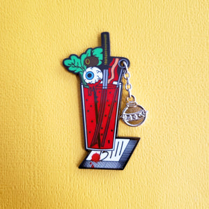 "Kill Bill - The ""Bloody Bride"" pin"