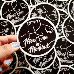 Eternal Sunshine of the Spotless Mind Sticker - Meet Me in Montauk