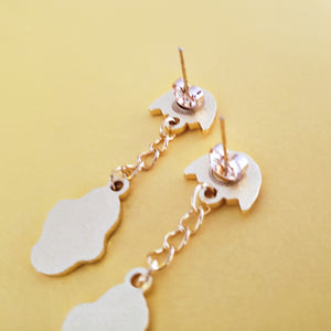 GUDETAMA  LAZY EGG EARRINGS