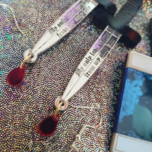 pre-order Romeo and Juliet Dagger Earrings