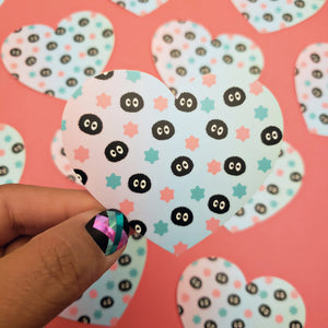 SOOT SPRITE HEART STICKER