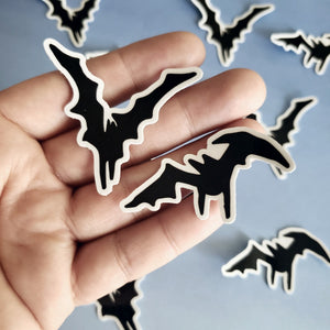 BAT STICKERS - 2 PCS - FEAR AND LOATHING IN LAS VEGAS