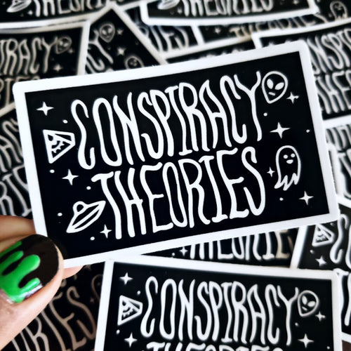 Conspiracy Theories Sticker
