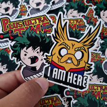 ADVENTURE TIME X MY HERO ACADEMIA STICKER