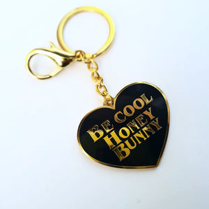 PRE-ORDER HONEY BUNNY PULP FICTION KEYCHAIN