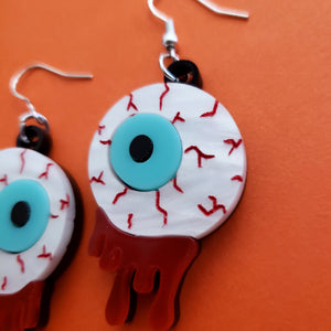 Eyeball Acrylic Earrings
