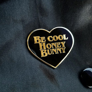 HONEY BUNNY PULP FICTION ENAMEL PIN