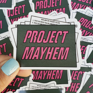 STICKER PROJECT MAYHEM