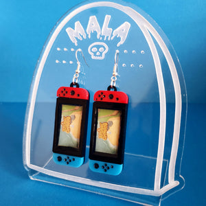 Nintendo Switch Earrings - Animal Crossing