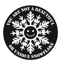 FIGHT CLUB SPECIAL SNOWFLAKE STICKER