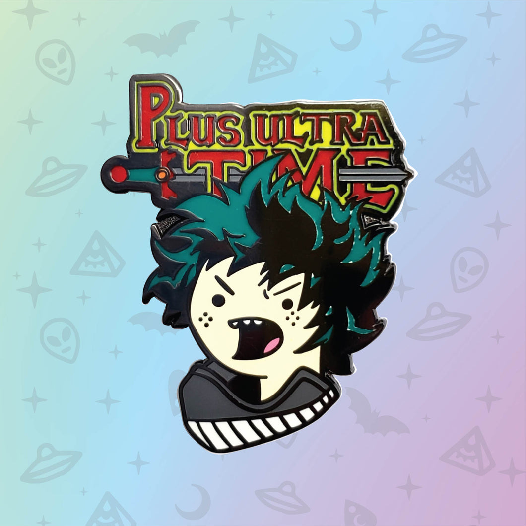 My Hero Academia x Adventure Time mash up pins