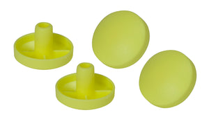 Drive Replacement Tennis Ball Glide Pads- 2 Pairs