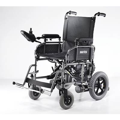 Merits - Folding Power Wheelchair - P101 - Liberty Medic