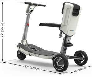 MovingLife - ATTO - Folding Mobility Scooter