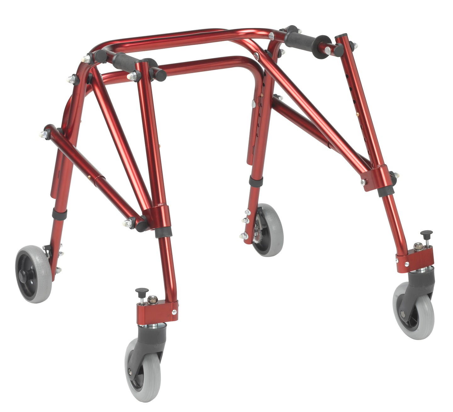 Drive Nimbo 2G Lightweight Posterior Walker- Small- Castle Red