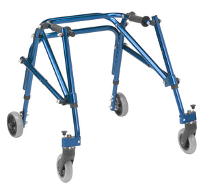 Drive Nimbo 2G Lightweight Posterior Walker- Small-  Knight Blue