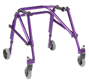 Drive Nimbo 2G Lightweight Posterior Walker- Small- Wizard Purple