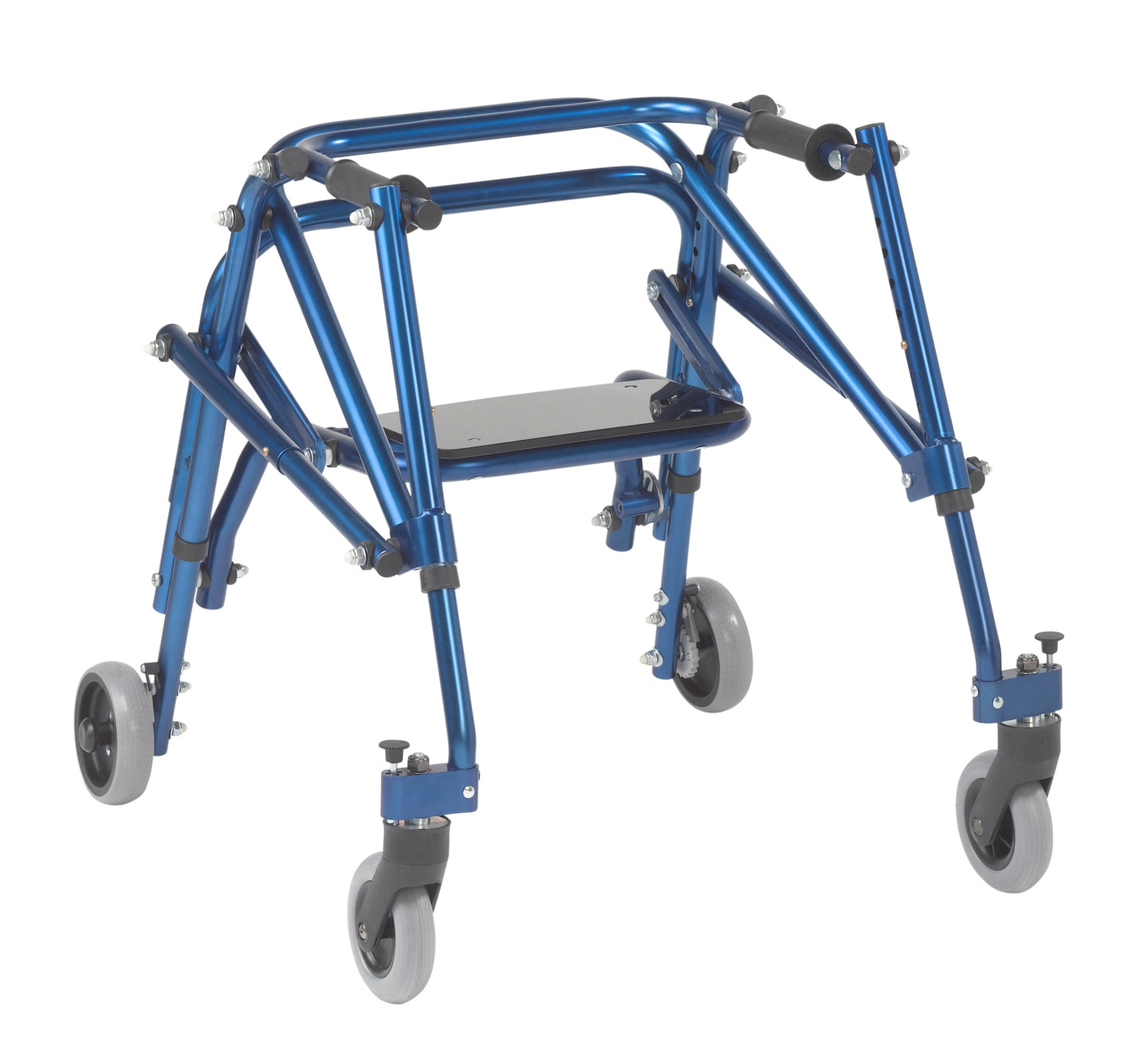 Drive Nimbo 2G Lightweight Posterior Walker with Seat- Small- Knight Blue