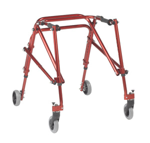 Drive Nimbo 2G Lightweight Posterior Walker- Medium- Castle Red