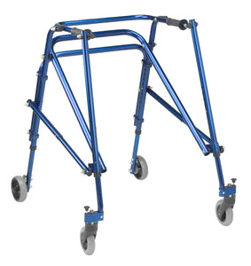 Drive Nimbo 2G Lightweight Posterior Walker- Large-  Knight Blue
