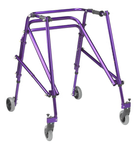 Drive Nimbo 2G Lightweight Posterior Walker- Large- Wizard Purple