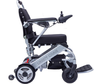 Liberty Chair - Extremely Light Folding Power Chair _ Open Box