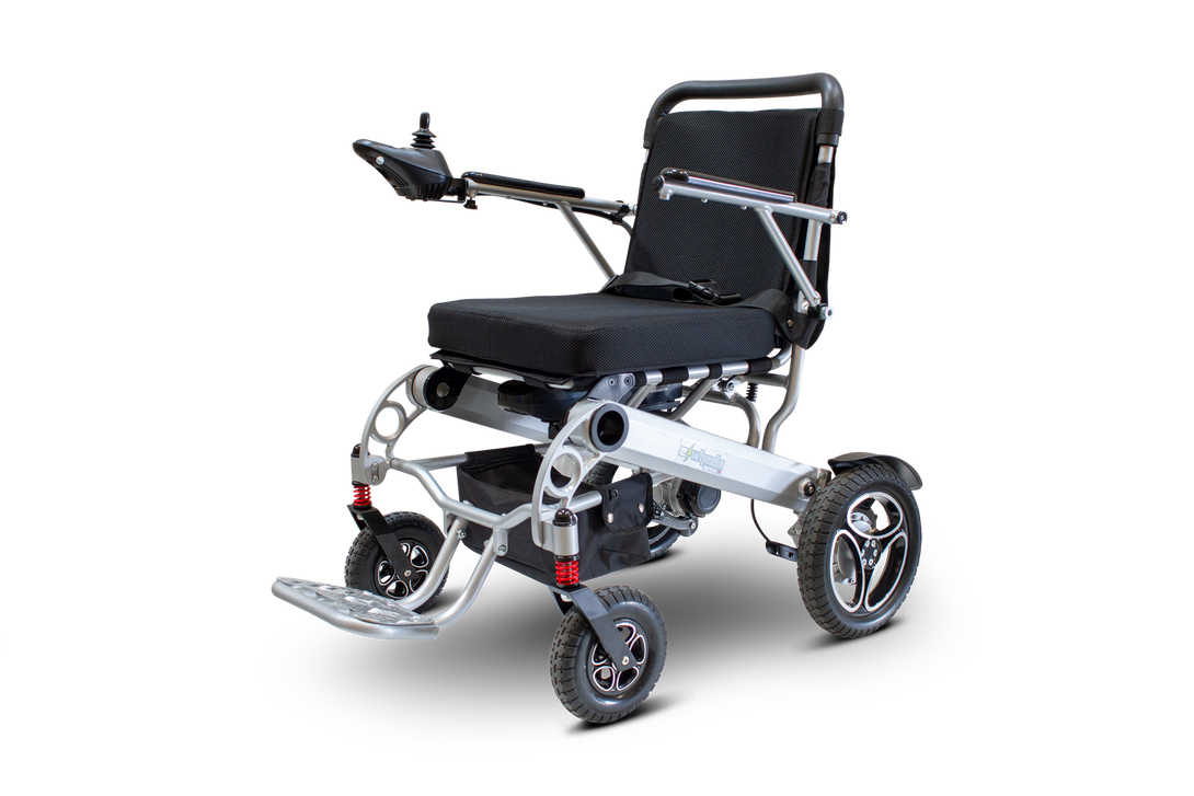 E-Wheels - EW-M43 - Folding Power Wheelchair