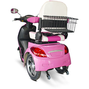 E-Wheels Pretty In Pink 3-Wheel Scooter EW-80 - Liberty Medic