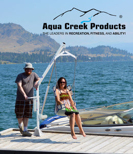Aqua Creek - The Power EZ 2 - Pool Lift & Boat Access