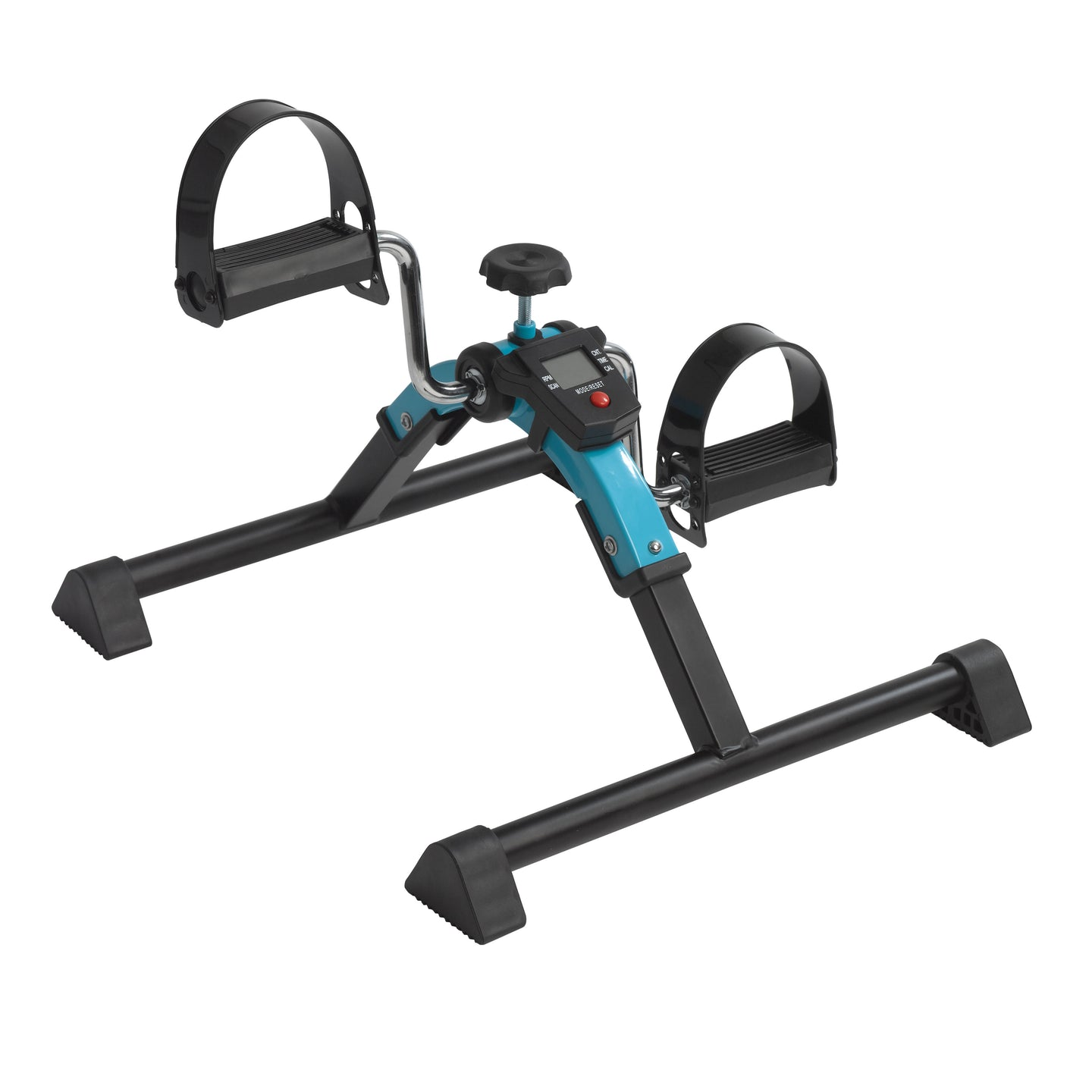 Drive Folding Exercise Peddler with Digital Display- Blue