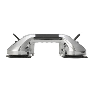 "Drive Suction Cup Grab Bar- 12""- Chrome and Black"