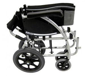 Karman S-ERGO 115 Transport – 22 lbs S-115F16SS-TP Wheelchair - Liberty Medic