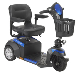 "Drive Ventura Power Mobility Scooter- 3 Wheel- 18"" Folding Seat"