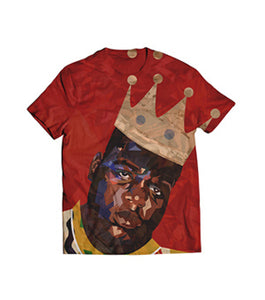 All-Over Classic BIG Artwork Red Tee