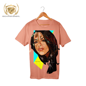 "Woman Art Line ""Baby Girl"" Apparel Piece #12 Aaliyah Tribute Tee"