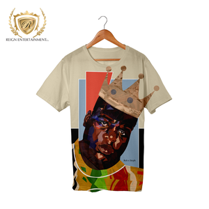 Biggie Artwork Tribute Tee by Rob x Steph