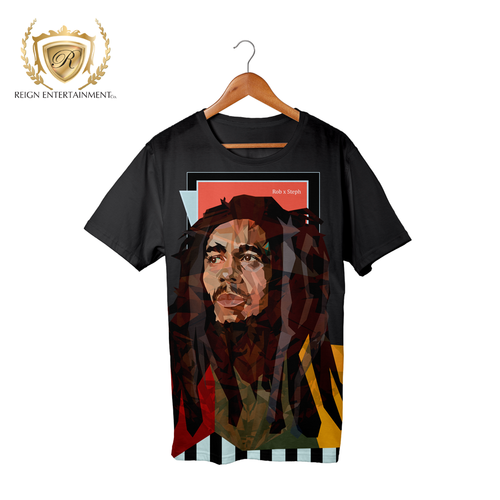 Bob Marley Tribute Tee by Rob x Steph