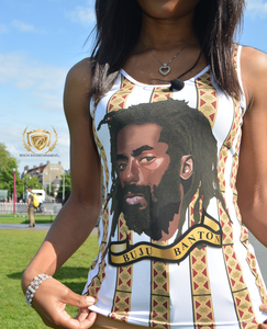 Buju Artwork White Tank