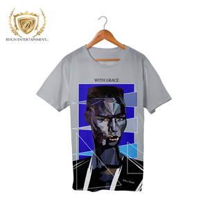 "Woman Art Line ""With Grace"" Apparel Grace Jones Tribute Tee"