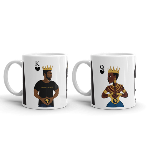 King & Queen 2 Ceramic Mugs for $39.99