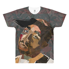 All-Over Classic Pac Artwork Tee Darker Tones