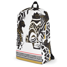 Black & White Abstract Back Pack