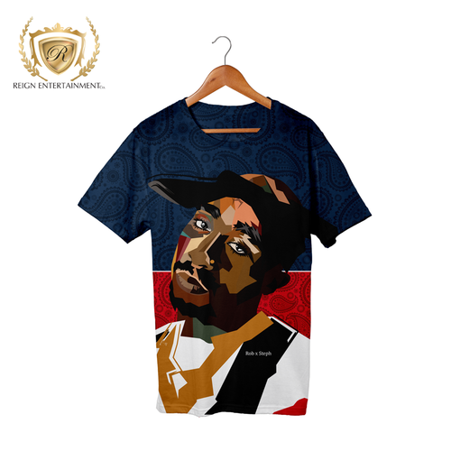 2 Pac Tribute Tee by Rob x Steph