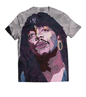 Classic Rick James All Over Artwork