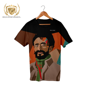 Haile Selassie Tribute Tee by Rob x Steph