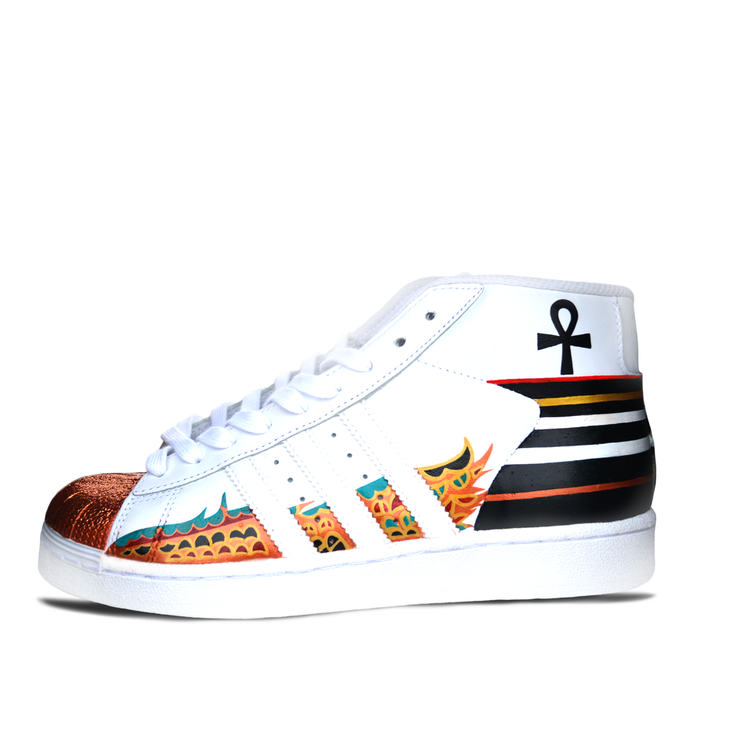 Custom Hand Painted Kings & Queens Sneakers