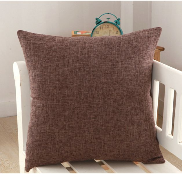 Solid Yellow Red White Grey Cushion Covers Nordic Modern Decorative