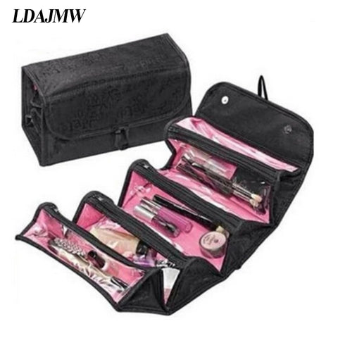 LDAJMW High quality Travel Hanging Cosmetic Storage Bag Travel Organizer Bag Large Capacity Multifunction Toiletry Bag For Women